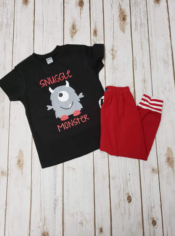 Snuggle Monster Tee - The  Little Reasons