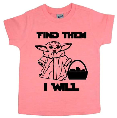 Find Them I Will Tee - The  Little Reasons