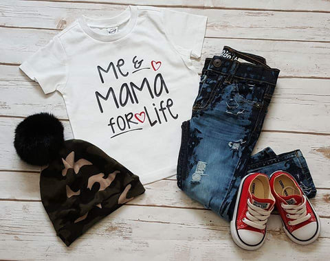 Me and Mama For Life Tee - The  Little Reasons