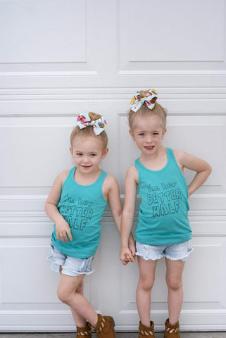 Her Better Half Sisters Tank Set - The  Little Reasons