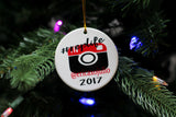#replife personalized ornament - The  Little Reasons