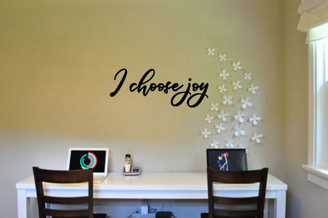 I Choose Joy Wall Decal - The  Little Reasons