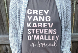 Grey's #squad Ladies Tee - The  Little Reasons