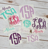 Monogram Decal Pack - The  Little Reasons