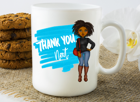 Thank You, Next Coffee Mug - The  Little Reasons