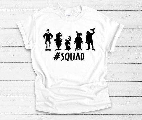 Christmas Movie #SQUAD Unisex Adult Tee - The  Little Reasons