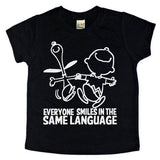 Everyone Smiles In The Same Language Tee - The  Little Reasons