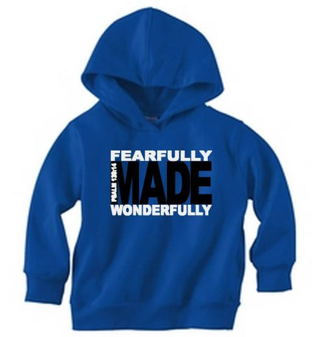 Fearfully and Wonderfully Made Pullover Hoodie - The  Little Reasons