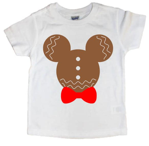 Mickey/Minnie Gingerbread Tee - The  Little Reasons