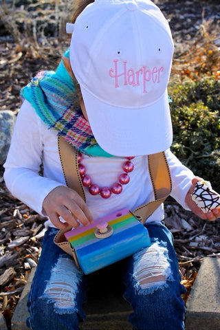 Full Name - Personalized Girl's Hat - The  Little Reasons