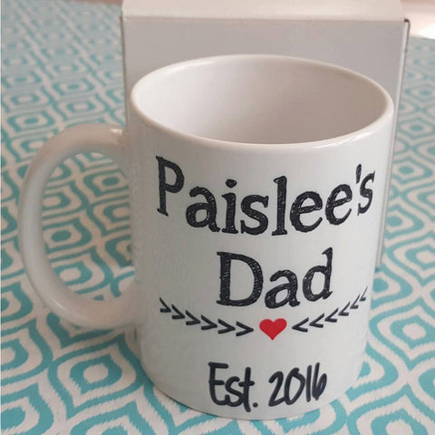 New Dad Mug - The  Little Reasons