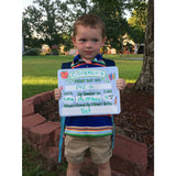 First Day of School Dry Erase Sign - The  Little Reasons