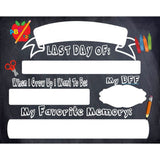 Last Day of School Dry Erase Sign - The  Little Reasons