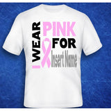 I Wear Pink Breast Cancer Support Shirt - The  Little Reasons