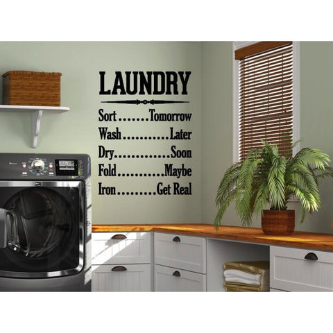 Laundry To Do List Wall Decal - The  Little Reasons