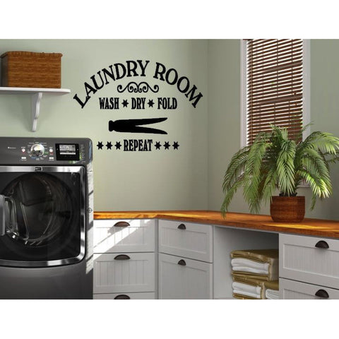 Laundry Room Wall Decal - The  Little Reasons
