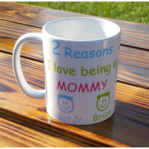 Reasons I love being a Grandma Mug - The  Little Reasons
