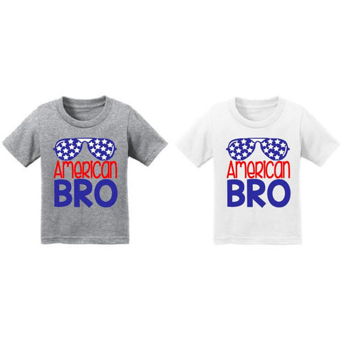 American BRO Fourth of July Shirt - The  Little Reasons
