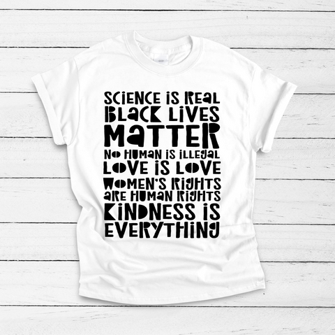 Kindness Is Everything Adult Tee