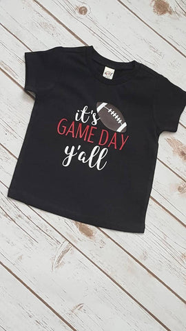 It's game day y'all  Girls Tee - The  Little Reasons