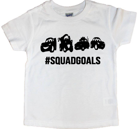 Cars Squadgoals Tee - The  Little Reasons