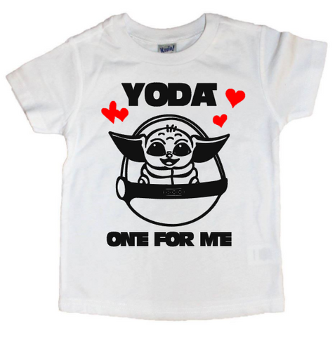 Yoda One For Me  Tee - The  Little Reasons