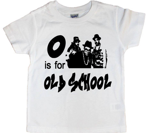 O Is For Old School Tee - The  Little Reasons