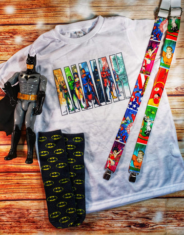 Justice League Name Tee - The  Little Reasons