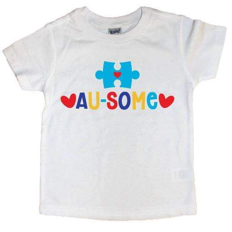 Au-Some Puzzle Piece Tee - The  Little Reasons