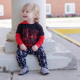 Messy Faces and Meltdowns Tee - The  Little Reasons