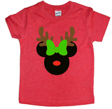 Mickey/Minnie Reindeer Tee - The  Little Reasons