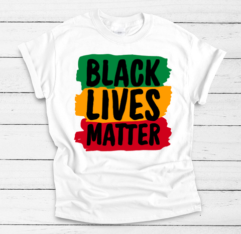 Black Lives Matter Adult Tee