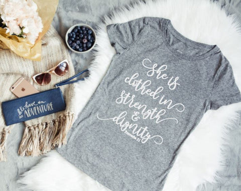Proverbs 31 Woman Tee - The  Little Reasons