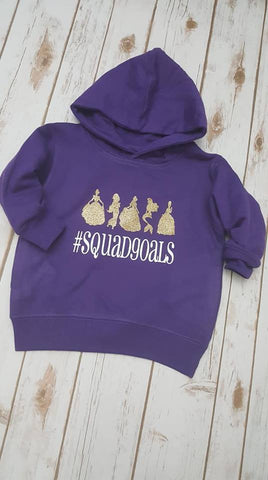 Princess Squadgoals Pullover Hoodie - The  Little Reasons