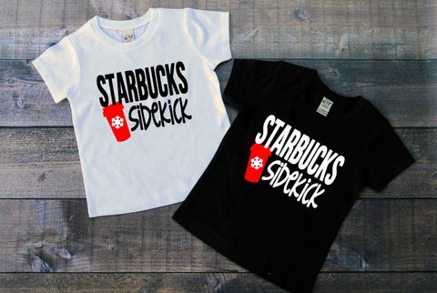 Starbucks Sidekick Red Cup Tee - The  Little Reasons