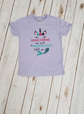 Unicorns Are Real Tee - The  Little Reasons