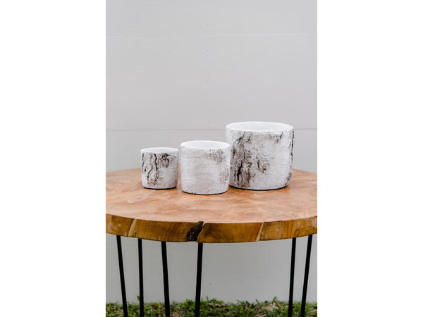 Elm Wood Set 3 Vase | Adorn Charleston