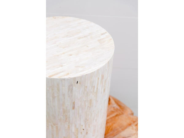 Mother of Pearl Side Table | Adorn Charleston
