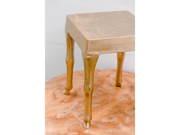 Gold Hoof Side Table | Adorn Charleston