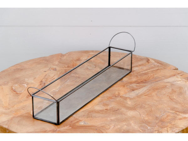 Metal Rectangle Tray | Adorn Charleston
