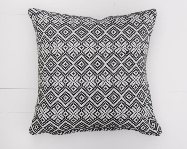 Black Diamond Pillow | Adorn Charleston