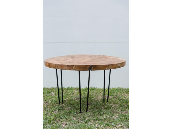Wood Coffee Table | Adorn Charleston