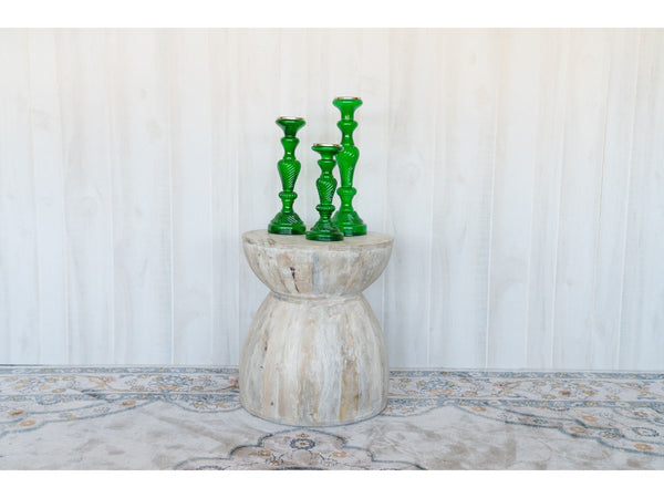 Green Candle Stick Set