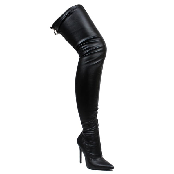 Gisele Thigh High Boots
