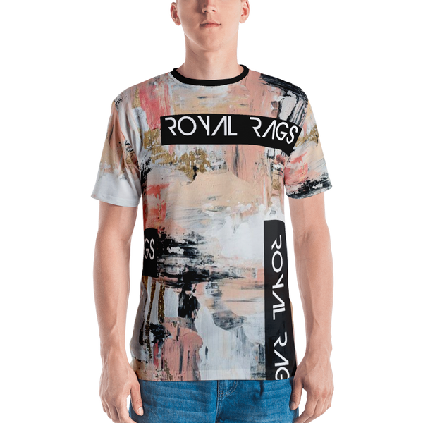 Royal Rags Abstract Print Tee