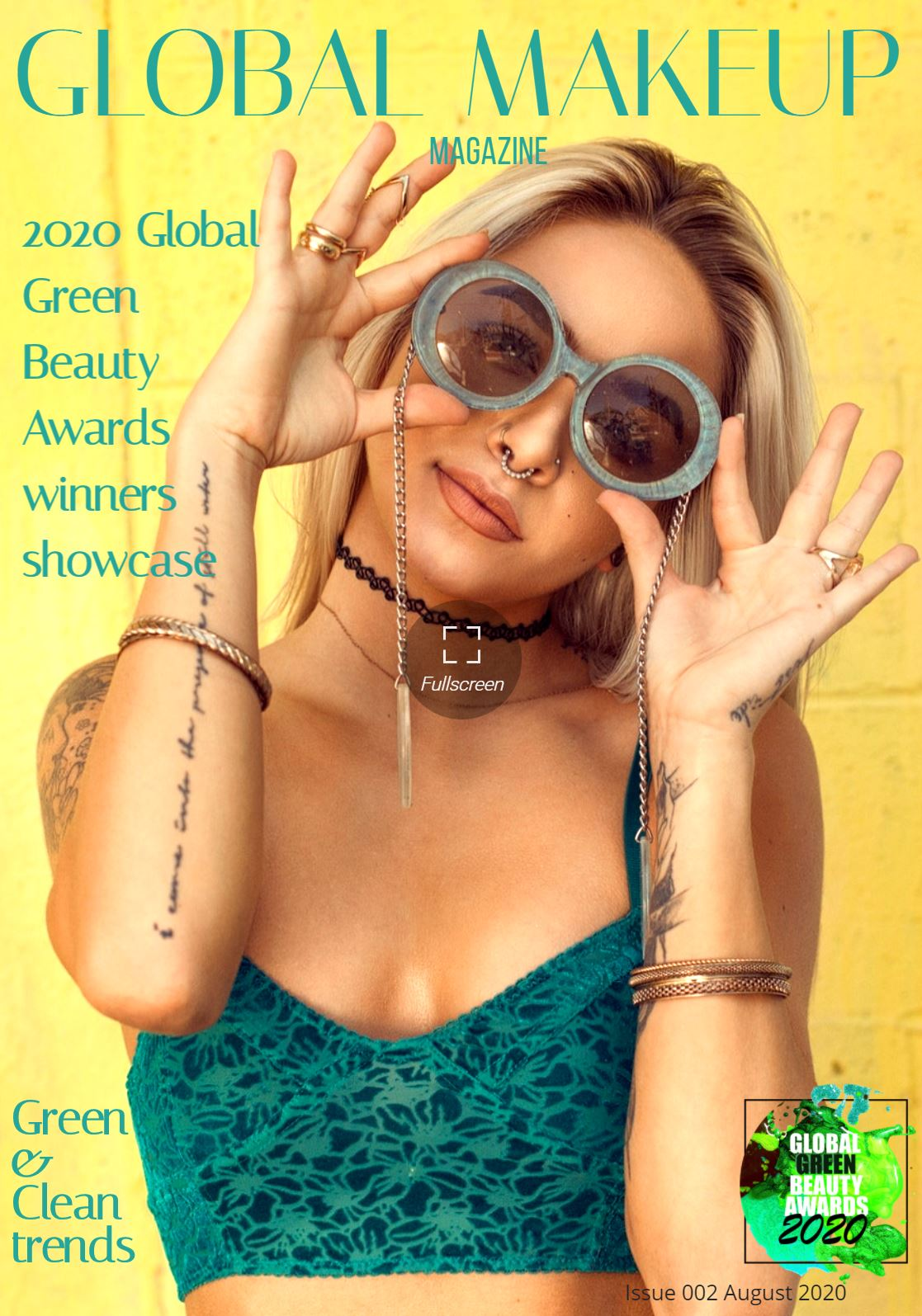 Dollbaby London Won a Forth Award at the 2020 Global Green Beauty Awards!