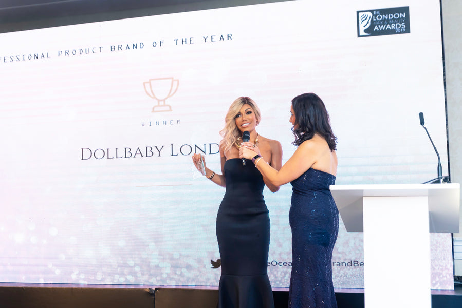 Dollbaby London Won Professional Product Brand of The Year!