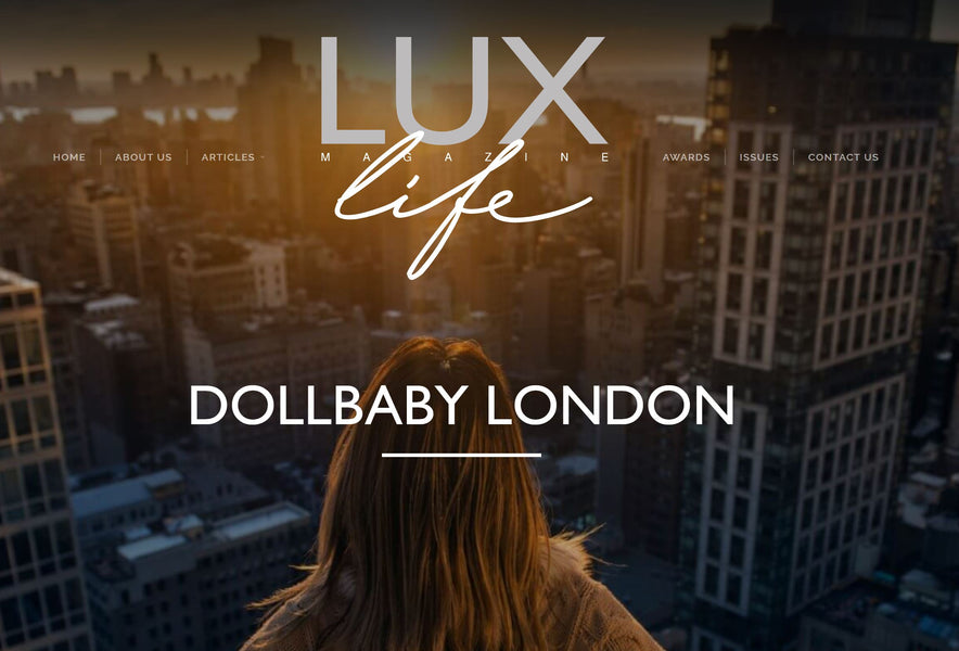 Dollbaby London Wins Two Awards at the Lux Life Magazine Health Beauty & Wellness Awards 2020!