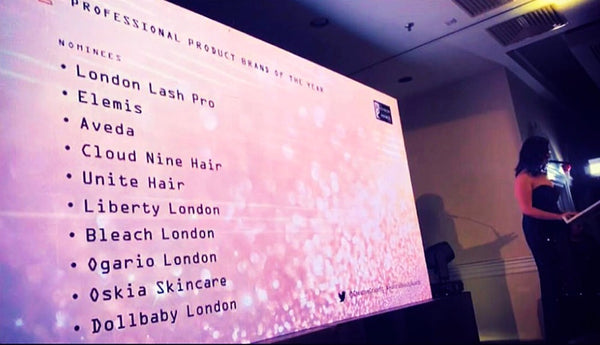 professional product brand of the year award 2019 nominees london hair and beauty awards