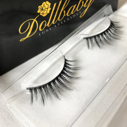 'Suzie' Platinum Natural Silk Tapered Eyelashes